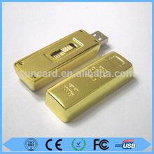Low price promotion 8gb usb gold bar