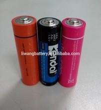 1.5V LR6 AA alkaline dry battery