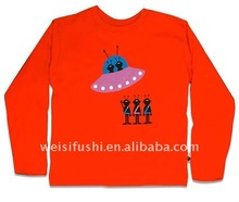 Printed long sleeved Child Cotton t-shirt