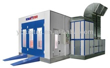 automotive paint booths are car spraying booth with PHILIP lamp for lighting