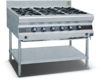 Hot Sale burner cooker, high pressure gas burners, gas cooker 6 burner(ZQW-33)