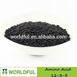 NPK 12-3-3 Compound Amino Acid Granular, hot sale slow release compound fertilizer