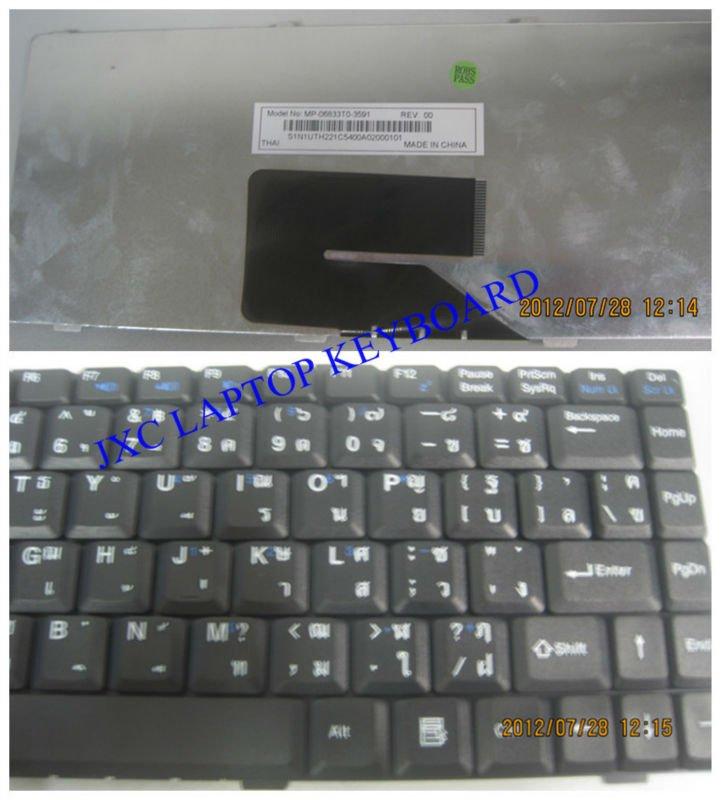 Thai Keyboard Layout Thai Layout Laptop Keyboard v