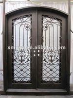 American decorative security screen door grill design