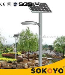 high brightness new design decorative 18w 4m solar garden light