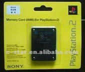For PS2 memory card 8MB.16MB,32MB,64MB