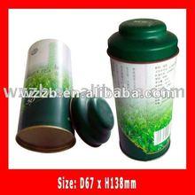 tea tin box