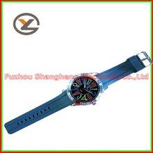 New in Box Exquisite Women's Stella Glitz Blue Silicone Chronograph Used Watches