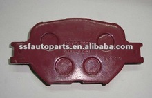 auto brake pad used for toyota COROLLA 2004- 04465-21030
