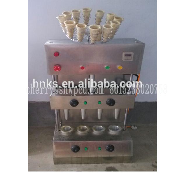 automático açoinoxidável pizza cone máquina para venda