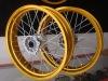 wholesale Made in china yellow 17 dirt bike wheels rims