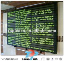 alibaba cn message/information LED display digital advertising board