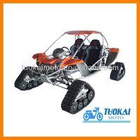 600cc track buggy/go kart/4-wheels drive snowmobile(TKG500E-A)