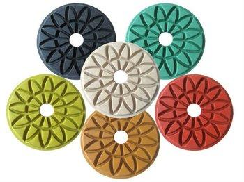 5mm thickness Sunflower Diamond Floor polishing pads