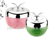Double-layer Stainless Steel Apple-type Lunch Box/Food Container