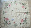 Very Beautiful Flower Embroidered Tablecloth