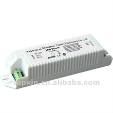 30W 24V Waterproof IP67 power supply CE ROHS approved led driver
