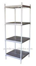 Commercial restaurant kitchen heavy duty plastic shelves