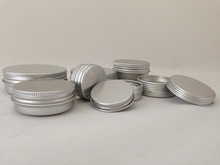 blank custom pharmaceutical aluminum wax cans