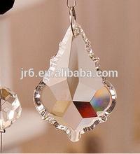 Crystal Chandelier Centerpiece Leafs Shape Part Beads,Crystal Beaded Curtain