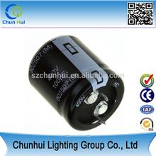 Nichcon 100uf 400v dip aluminum electrolytic capacitor