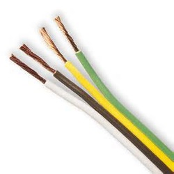 copper conductor energy cable, twin and earth 2.5mm2 PVC Wire