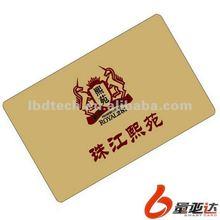 Golden Zhu River Plastic Card