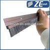 Aluminium holder door strip brush