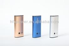 5000mah portable external white battery power charger USB PHONE