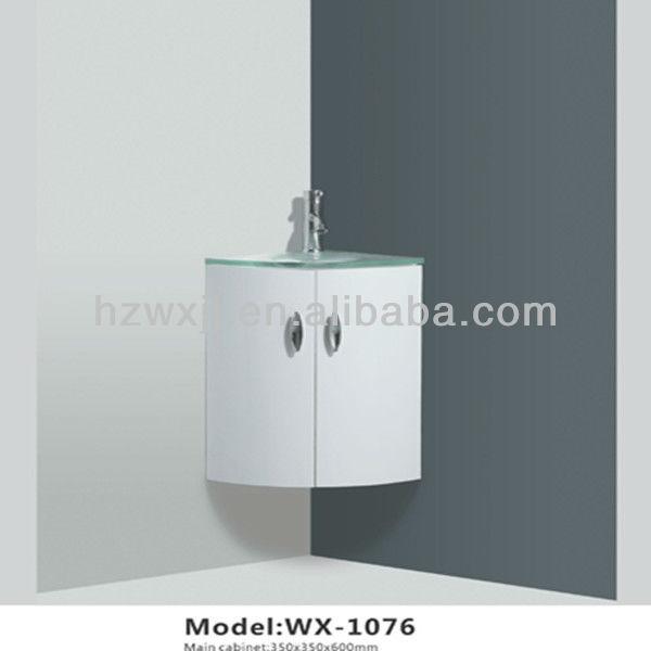Parede de canto pia do banheiro lavagem gabinetePenteadeiras para banheiroI # Gabinete De Banheiro Canto