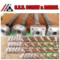 blown polyethylene pe film extrusion screw barrel shaft cylinder