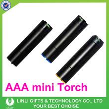 1 Watt Led Antiskid Promotion Mini Flashlight