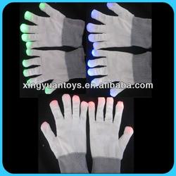 LED Flashing Light Up Gloves