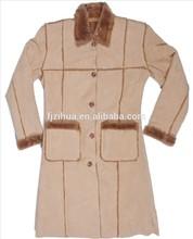 Women&Ladies winter suede fur coat