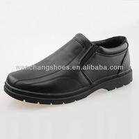 Hot black children school shoes for boys
