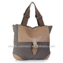 2013 canvas trendy summer handmade handbags