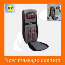 2013 New Heating /vibration /neck and back car massage cushion