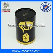 decorative hot chocolate tin box