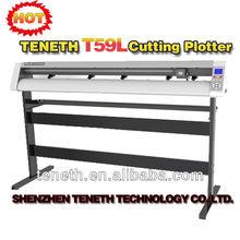 Teneth 64'' Contour Vinyl Cutting Plotter T59XL/Sticker Cutter Plotter with Red dot