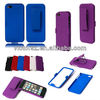 Case with Kick Stand + Belt Clip Holster for Apple iPhone 5