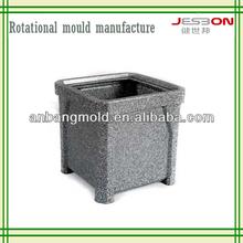 plastic rotational flower pot planter mould OEM