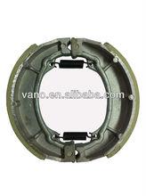 High quality RX125 Motorcycle Brake Shoe Manufacturer