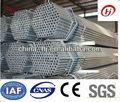 Por inmersión en caliente de acero galvanizado de tubos de comercio, zinc galvanizado ronda de tubos de acero para la construcción de material