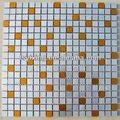 prezzo di fabbrica ma05 cucina in stile nuovo backsplash mosaico in alluminio spazzolato