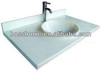 Hot sale white bathroom vanity counter top home depot bathroom countertops