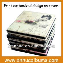 Leather printing wedding DVD/CD Case