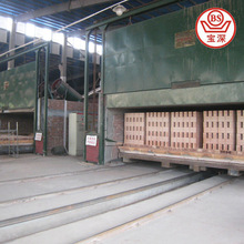 Clay brick electric tunnel kiln and brick kiln engineering design fabrication and installation
