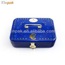 classical rectangular food tin box