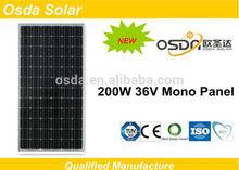 190 watt mono panel solar