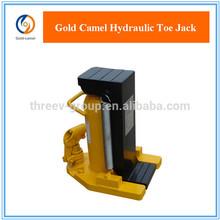 Hydraulic toe jack